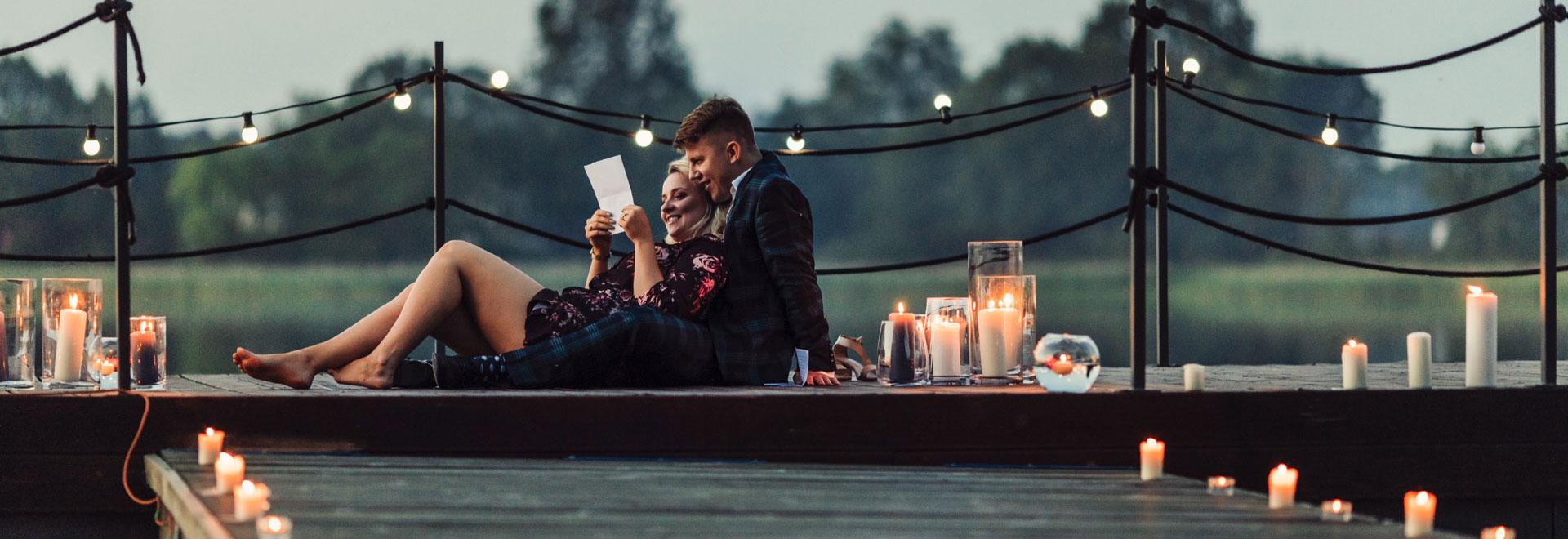 Romantyczny pobyt Mazury